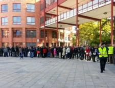 Votul in diaspora: Ambasada din Madrid anunta ca alegatorii stau cate 4 ore la coada (Foto)