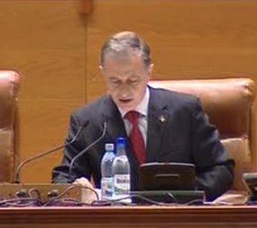 Votul pe Legea ANI in Senat: Singura abtinere a fost a lui Geoana