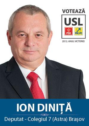 Votul pentru arestarea deputatului Dinita, dupa primul tur de prezidentiale