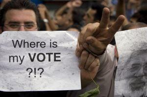 Voturile vor fi renumarate in Iran