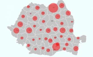 Vrancea, 22 mai: 562 de cazuri de coronavirus, cu 10 in plus fata de ziua precedenta. Numarul persoanelor vindecate a ajuns la 236