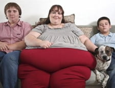 Vrea sa devina cea mai grasa femeie din lume