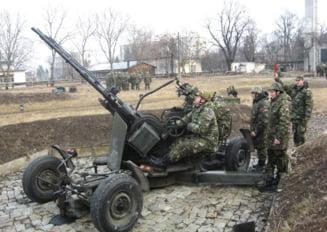 Vrei sa fii artilerist antiaerian? Se fac angajari si sunt zeci de locuri disponibile