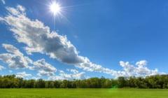 Vreme deosebit de calda, dar in general instabila