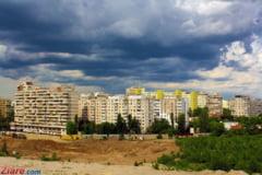 Vremea se schimba in Bucuresti din seara asta: scad temperaturile si vin ploile torentiale