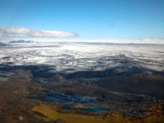 Vulcan in eruptie, zguduit de un cutremur puternic