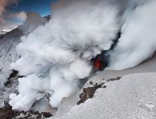 Vulcanul din Islanda emite zilnic 300.000 tone de dioxid de carbon