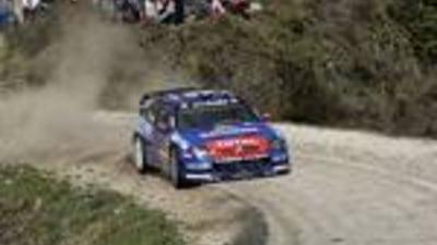 WRC: Loeb se mentine in frunte