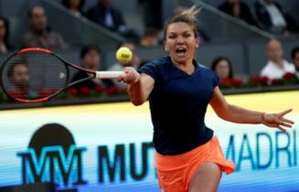 WTA, despre calificarea Simonei Halep in semifinalele de la Roma
