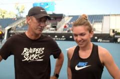 WTA prezinta imagini din culise cu Simona Halep si Darren Cahill: Trebuie sa controlezi. Daca tipi, platesti (Video)