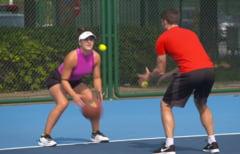 WTA publica imagini de culise cu Simona Halep si Bianca Andreescu (Video)