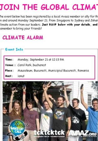 Wake-up Call: Tinerii bucuresteni au dormit in Parcul Carol pentru clima