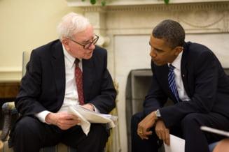 Warren Buffett, ultimul miliardar care il sustine pe Obama