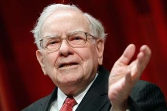 """Warren Buffett isi reafirma credinta in """"visul american"""" si spune ca """"nu va paria niciodata impotriva Americii"""""""