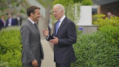 Washingtonul afirmă că a discutat cu Parisul înaintea anunţării alianţei sale cu Marea Britanie şi Australia. Franţa dezminte
