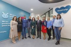 Webhelp Romania a inaugurat cel mai primitor sediu din Galati si isi extinde echipa cu cateva zeci de pozitii pana la finele anului