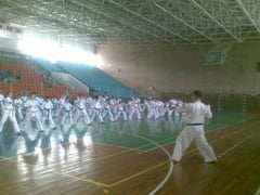 "Weekend cu sport in Sala Polivalenta: Karate la greu, la ""Danube Delta Cup International"""