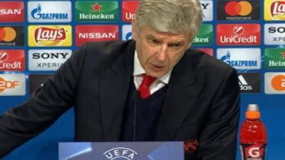 Wenger, dupa ce Arsenal a fost umilita in Champions League: Un cosmar!