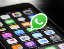 WhatsApp lanseaza o functie prin care fotografiile si videoclipurile vor disparea dupa prima vizualizare