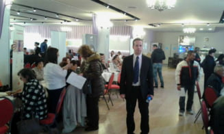 """Wiegand Fleischer, vicepresedintele CJ SIBIU, la Bursa Generala a locurilor de munca: """"Astfel de evenimente sunt benefice"""". La finele lunii februarie, rata somajului in judetul Sibiu era de 3,32%"""