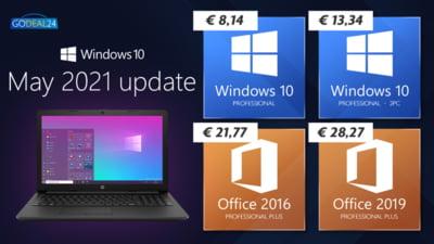 Windows a avut un update major, stiati? Windows 10 la doar 6.67Euro perPC!!!!