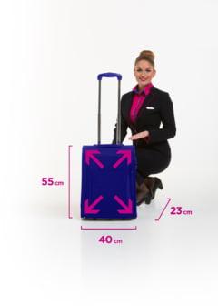 Wizz Air anunta o noua politica legat de bagaje