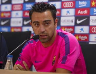 Xavi s-a retras din nationala Spaniei