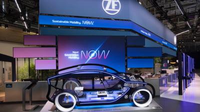ZF pune in miscare mobilitatea sustenabila. Cele mai recente inovatii prezentate la IAA Mobility