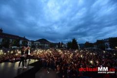 ZIUA TINERETULUI - Peste 7.000 de baimareni au asistat la concertul din a doua zi de Paste (GALERIE FOTO)
