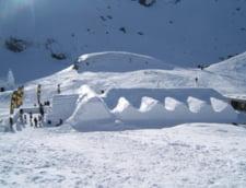 Zapada de peste 2 metri si risc insemnat de avalansa la Balea Lac