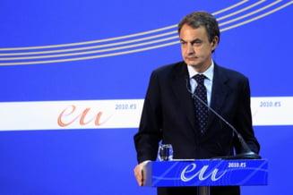 Zapatero: Nu renuntam la programul de austeritate si vom plati datoriile