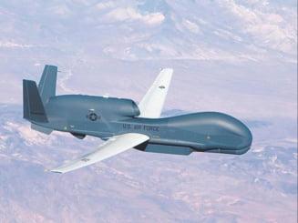 Zbor neobisnuit al unei drone americane de spionaj, la nord de Peninsula Crimeea