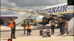 Zborul Ryanair deturnat de Belarus. Raportul agenției ONU va fi finalizat în noiembrie