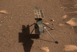 Zborul istoric pe Marte al elicopterului Ingenuity, amanat din cauza unei defectiuni