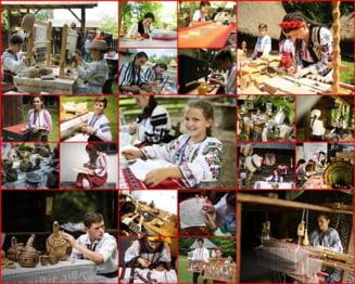 Zeci de copii, SUS, pe PODIUMUL Olimpiadei ce aduce OMAGIU Mestesugurilor Artistice Traditionale. Tuturor, FELICITARI!!!