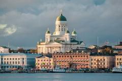 Zeci de finlandezi arestati in timpul unei manifestatii anti-restrictii