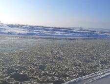 Zeci de gospodarii au fost inundate in Muntii Apuseni dupa topirea zapezii