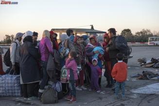 Zeci de imigranti cer protectie statului roman, dupa ce au venit ilegal cu o nava pe Marea Neagra
