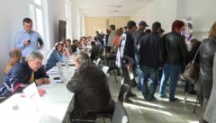 Zeci de locuri de munca in constructii, la Bursa AJOFM de vineri