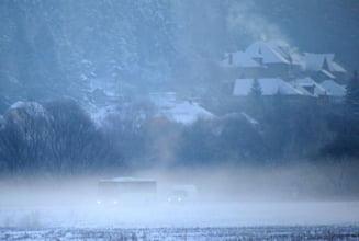Zeci de morti si mii de sinistrati din cauza ninsorilor si ploilor, in Europa