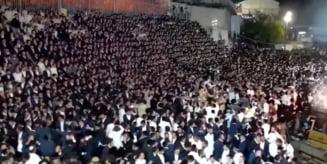 Zeci de oameni au murit la cel mai mare eveniment cu public organizat in Israel de la inceputul pandemiei VIDEO