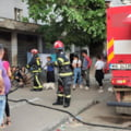 Zeci de persoane, intre care si copii, evacuate din calea unui incendiu, la Botosani