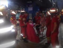 Zeci de persoane au ramas blocate în aer dupa ce Telegondola din Mamaia s-a blocat VIDEO