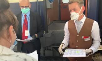 Zeci de romani pleaca la munca in Austria cu trenurile speciale trimise de la Viena (Video)