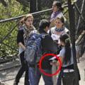 Zeci de rromi din Romania prinsi la furat la Roma de 1 Mai