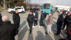 Zeci de soferi STB protesteaza si ameninta cu greva: Puneti viata calatorilor in pericol! (Foto&Video)