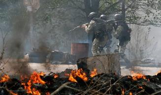 Zi sangeroasa in Ucraina: Zeci de morti in Slaviansk si Odessa