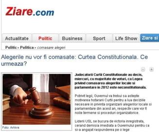 Ziare.com, sursa numarul 1 de informatie politica pentru bucuresteni