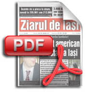 Ziarul de Iasi se vinde in varianta PDF