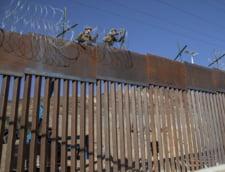 Zid pe granita SUA-Mexic